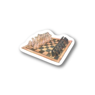 Rabbit chess Stickers