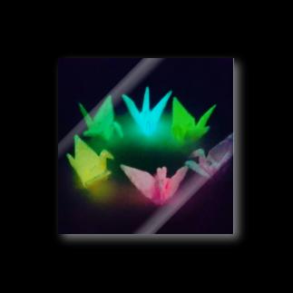 山田じゅん(YHM10/8日のみ)の光る鶴 Stickers