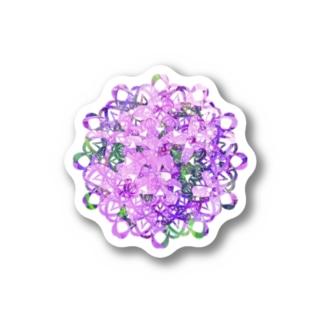 レース編み~芝桜~ Sticker