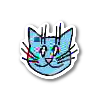画質悪猫 Sticker Stickers