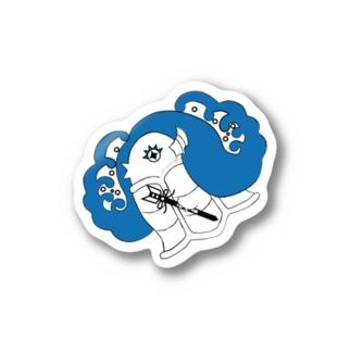 Amiの目覚めのアマビエ Sticker