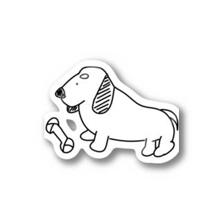 ゆる~い犬さん(ダックスフント) Sticker