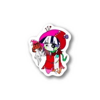 アカズキン(動脈) Stickers