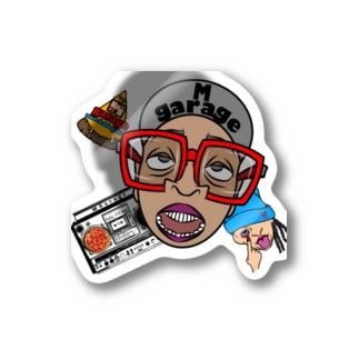 MGarage オリジナル スパイク君 Sticker