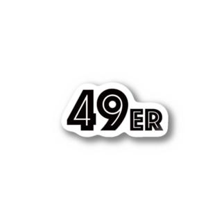 49er ステッカー