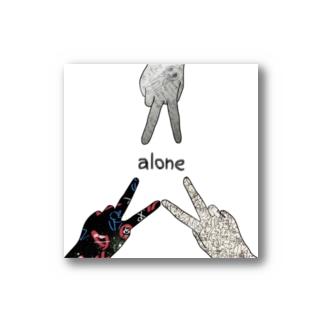alone Stickers