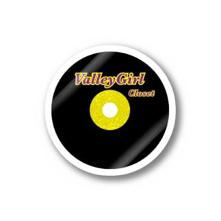 Valleygirl Closet ロゴステッカー Stickers