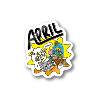 APRIL ステッカー