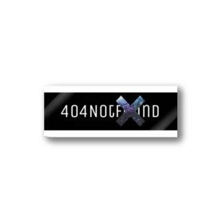 NotFound boxlog2 Stickers