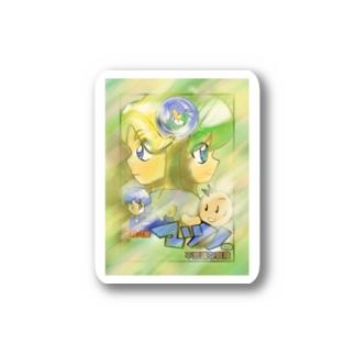 MATUNO1korabore-syon Stickers