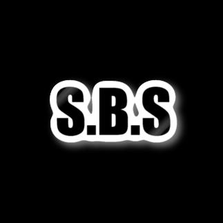 sbs0419の【ステバイ】ステッカー S.B.Sステッカー