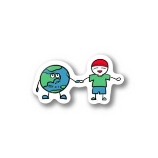 JIZOKU KANOU NA SYAKAI Stickers