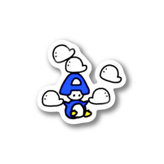 あんびSHOPのあんびくん(ペンギン) Stickers