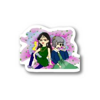 80's GIRLS Stickers