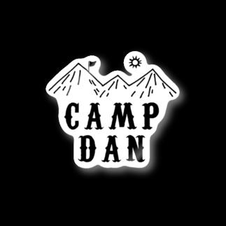No RaMen No LiFeのキャンプ団 山 ステッカー