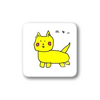 いえろにゃんこ Stickers