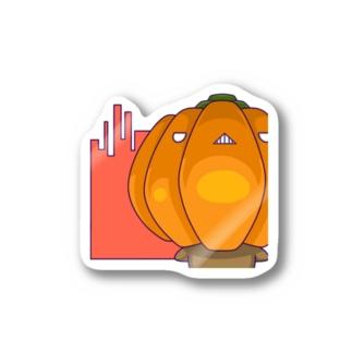 bekkouの怒りかぼちゃ Stickers