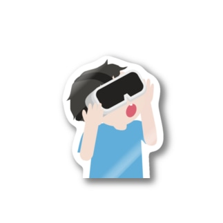 VR少年 Stickers