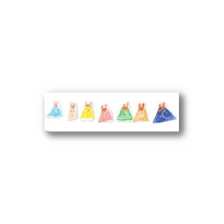 うさぎのプリン Stickers