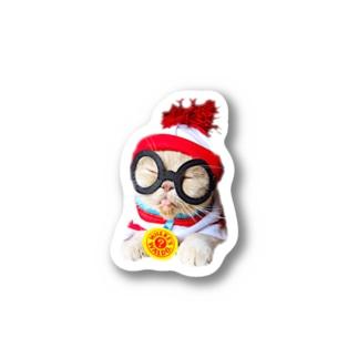おもち&小町🐈のウォーリーなおもち Stickers