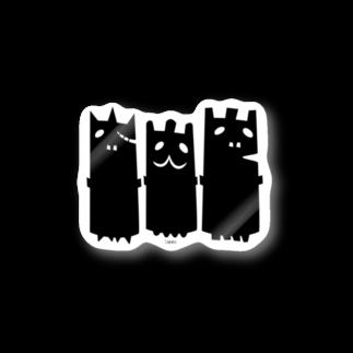 C-cubeのおばけーズ Stickers