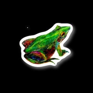 Hesperiidaeのカエルステッカー