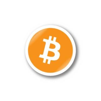 Bitcoin sticker ステッカー