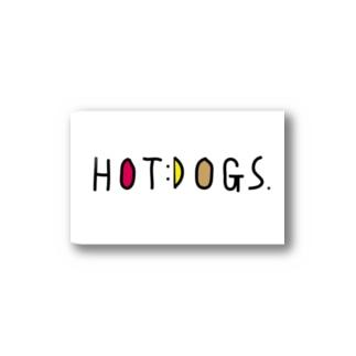 HOTDOGS Stickers