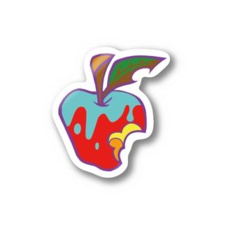 タスカラナインステッカー/リンゴ Stickers