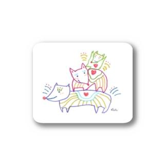 犬のファミリー Stickers