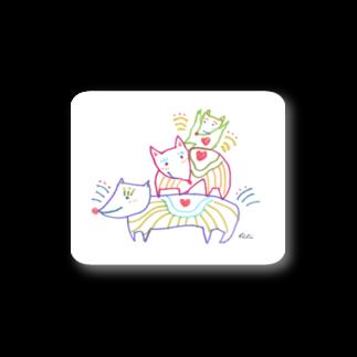 KiKiTRiP Magの犬のファミリー Stickers