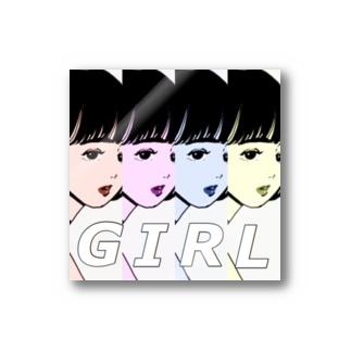 honoka___のG I R L Stickers