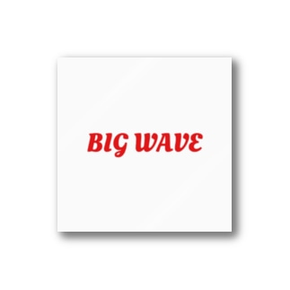 BIG WAVE Stickers