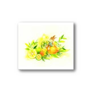レモン Stickers