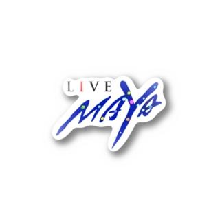 LIVE MAYA Stickers