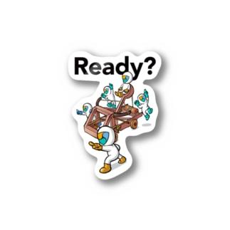 【NEM】 Ready? Stickers