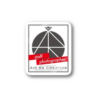 ABC「staff photographer」ロゴ Stickers