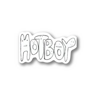 hot_boy Stickers
