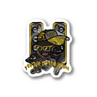 黒豆DJ Stickers
