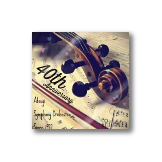 40周年記念グッズヴァイオリンヴァージョン Stickers