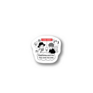 スガヌマショウコデザイン Stickers