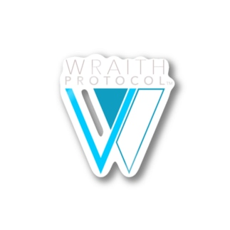 WRAITH PROTOCOL(レイス・プロトコル)ロゴ Stickers