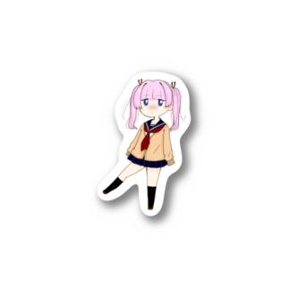 女子高生(冬服) Stickers