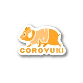 コロユキ・シンプル・エース Stickers
