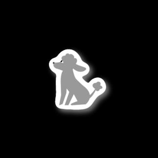 edamametoichiのトイプードルのエダマメトイチ Stickers
