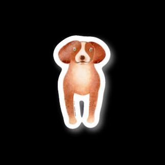 TONTON ANIMALSのTONTON‐ANIMALS『ビーグル』 ステッカー