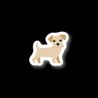 edamametoichiのノーフォークテリアくんB Stickers