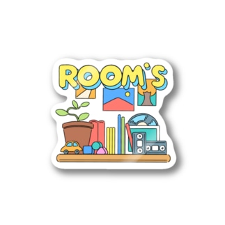 ROOMS Stickers