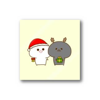 みじうら(クリスマス) Stickers