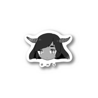 おに Stickers